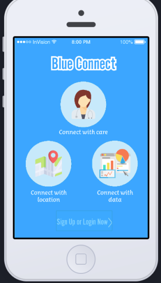 Blue Connect MobileApp