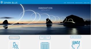 Spark Blue Website