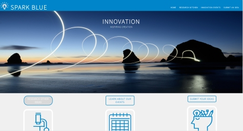 SparkBlueHomePage