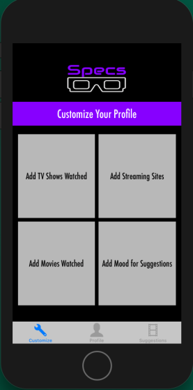 CustomizeView
