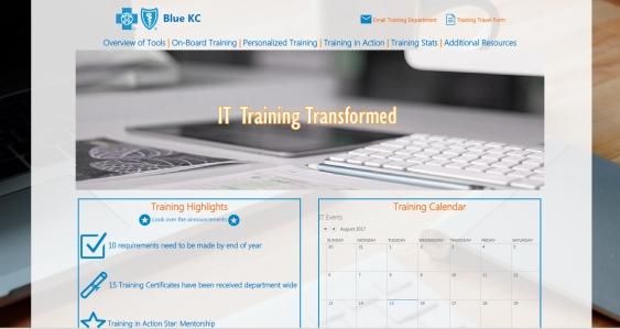 TrainingPortalHomePage