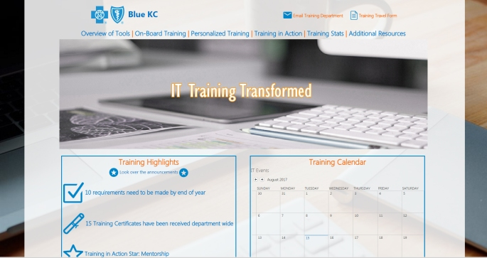 TrainingPortalHomePage